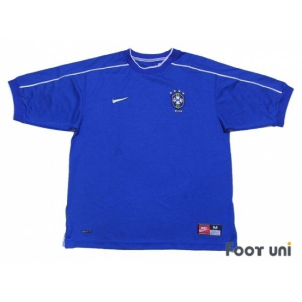Photo1: Brazil 1998 Away Shirt