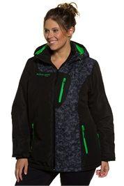 Plus Size Warm Windbreaker Waterproof Ski Outdoor Jacket