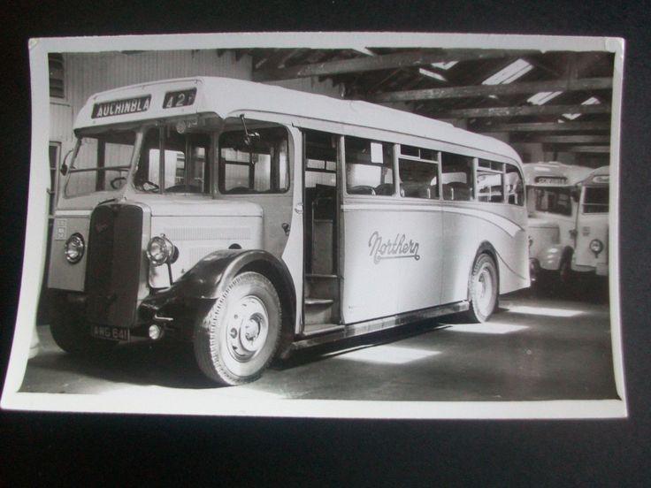 B & W Photograph Bus W Alexander & Sons NORTHERN Aberdeen Bus Station V | eBay