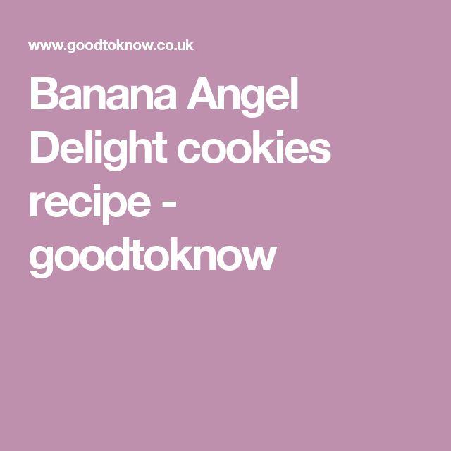 Banana Angel Delight cookies recipe - goodtoknow