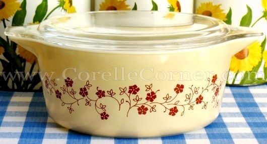dating pyrex If your decorating style leans more toward mad men than french farmhouse, i'll bet good money that you have a piece of pyrex bakeware stashed somewhere in your house.