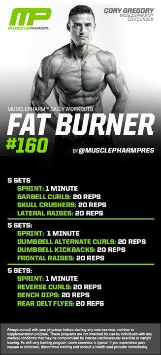 Fat Burner #160
