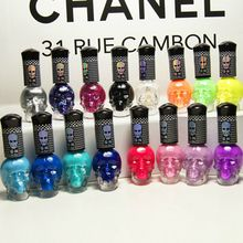 Find More Nail Polish Information about Fast Dry Luminous In Dark Skull Punk Soft Ice Cream Neon Color Nail Polish 60 Colors Fashion Beauty Nail Polish 6PCS,High Quality Nail Polish from ColorArt Co. LTD on Aliexpress.com