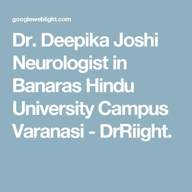Dr. Deepika Joshi Neurologist in Banaras Hindu University Campus Varanasi - DrRiight.