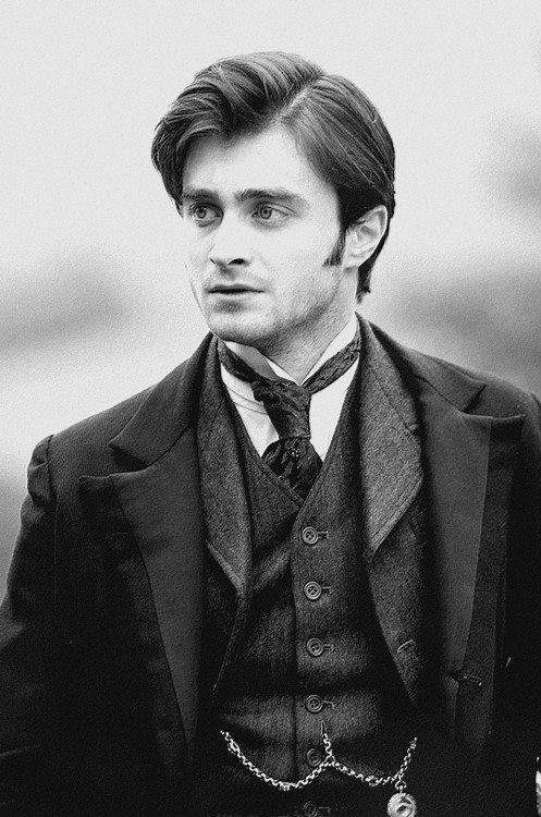 "Daniel Radcliffe in a still from ""The Woman in Black"" - Creepy film!                                                                                                                                                                                 More"