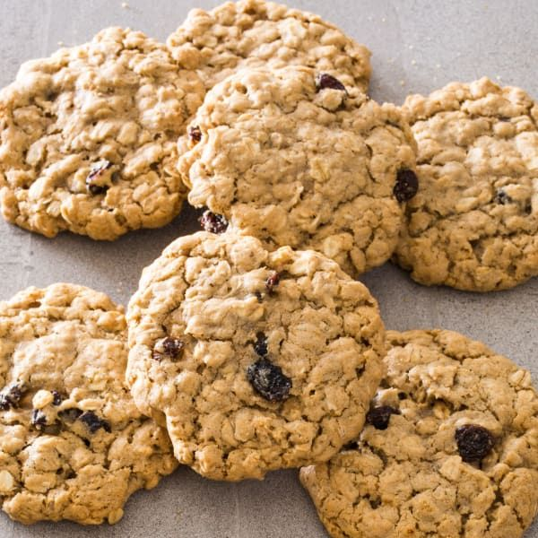 Knowingly or not, most folks use the cookie recipe from the Quaker canister. We wanted a cookie that was chewier, moister, and easier to make.