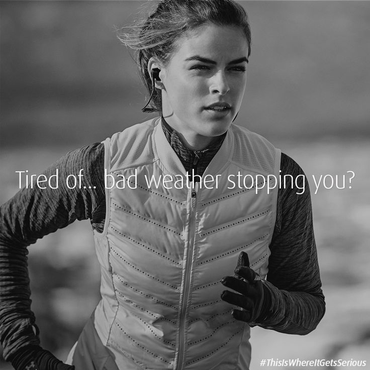 Rain is no longer an excuse to not go running with Jabra Sport Pulse which is sweat and waterproof.