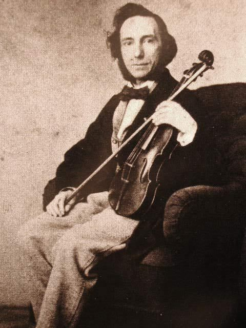 Niccolò Paganini sull' allievo Camillo Sivori/Niccolò Paganini about his pupil Camillo Sivori