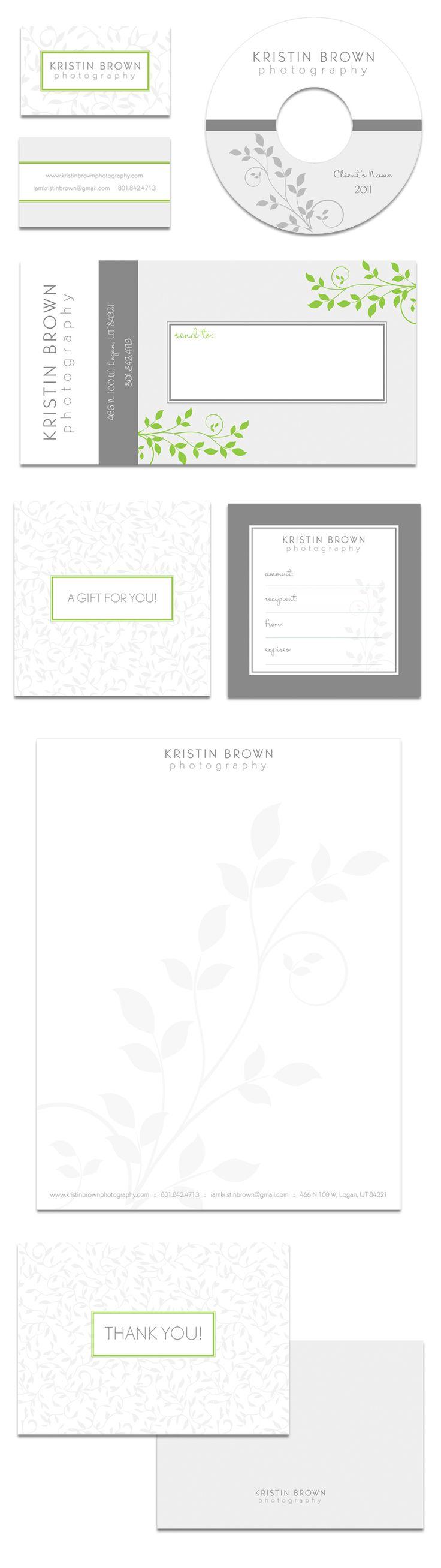 custom designed photographer branding kit by Tiffany Kelley Design (www.tiffanykelley.com)
