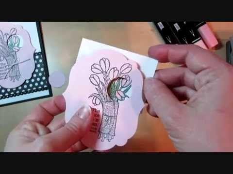 Quick Video Tip: Negative Spotlight Tutorial & Stampin' Up! Love is Kindness Card www.juliedavison.com #stampinup