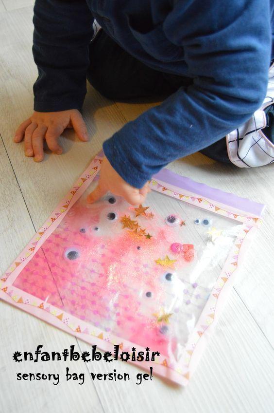 15 pingles sacs sensorielles de b b incontournables sacs sensoriels d veloppement sensoriel. Black Bedroom Furniture Sets. Home Design Ideas