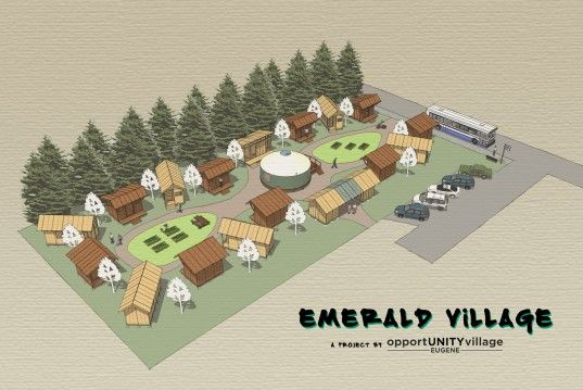 Tiny House Villages Become Sustainable Housing for the Homeless | Inhabitat - Sustainable Design Innovation, Eco Architecture, Green Building