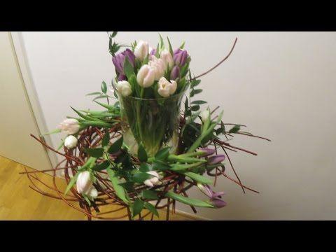 Frühlingsdekoration mit Tulpen ❁ Deko Ideen mit Flora-Shop | flora-shop.eu