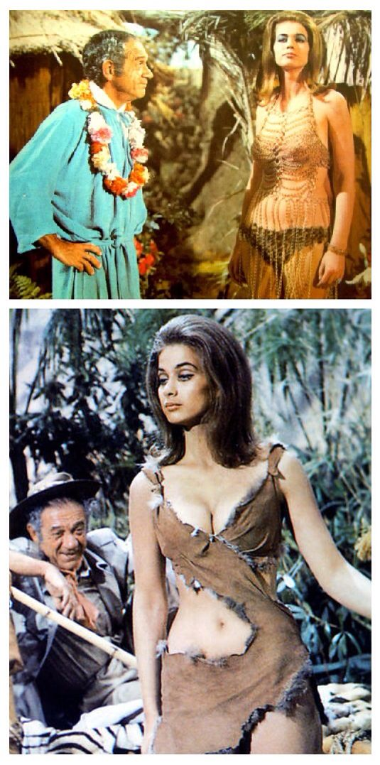 Sid James and Valerie Leon, Carry On Up The Jungle.