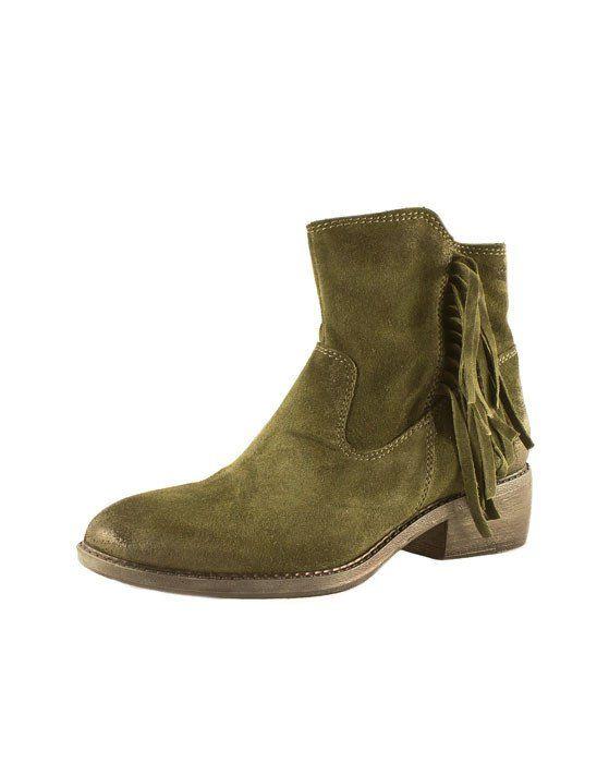 Martina Buraro Khaki Boot