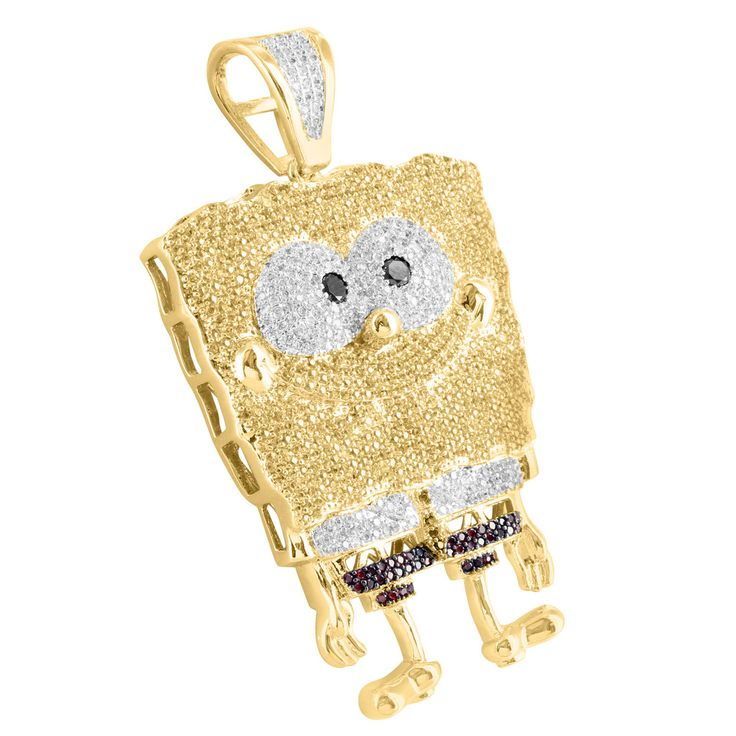 stone necklace hop set lab silver diamond store pendant out rappers product hip chain square iced