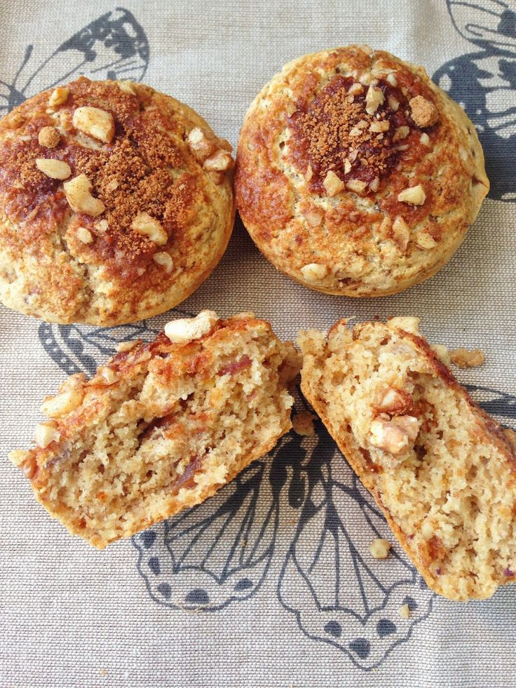 gluten free, no refined sugar, thermomix, muffin recipe, baking, easy, 12wbt, healthy treat, date, fig, apple, walnut, crumble