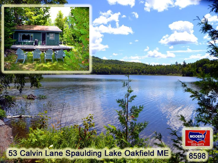Oakfield , Maine Vacation real estate for sale - The Open Deck, The Picture Window, The Fireplace Wood Heat. You In This Lake Front Picture In Maine? Four Season Location With Southern Exposure Loaded With Pleasure Seeking Features. Explore The Trails, Paddle Your Kayak In This Clean Maine Lake! Level Lot Means No Zip Line To The Water And Then Scratching Your Head To Figure Out How To Get Back Up That Steep Incline Like So Many Places. Video Takes You Through And Around The Outside Of This…