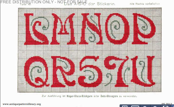 Last year I made an Art Deco cross-stitch Sampler that I got on Antique Pattern Library. I couldn't remember where exactly on the site I found this pattern, but I recently I came across it again. ...
