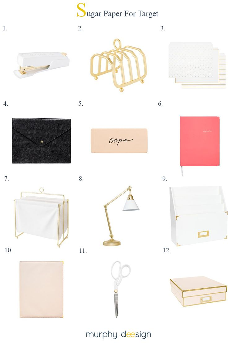 Murphy Deesign | Sugar Paper For Target... Desk Collection