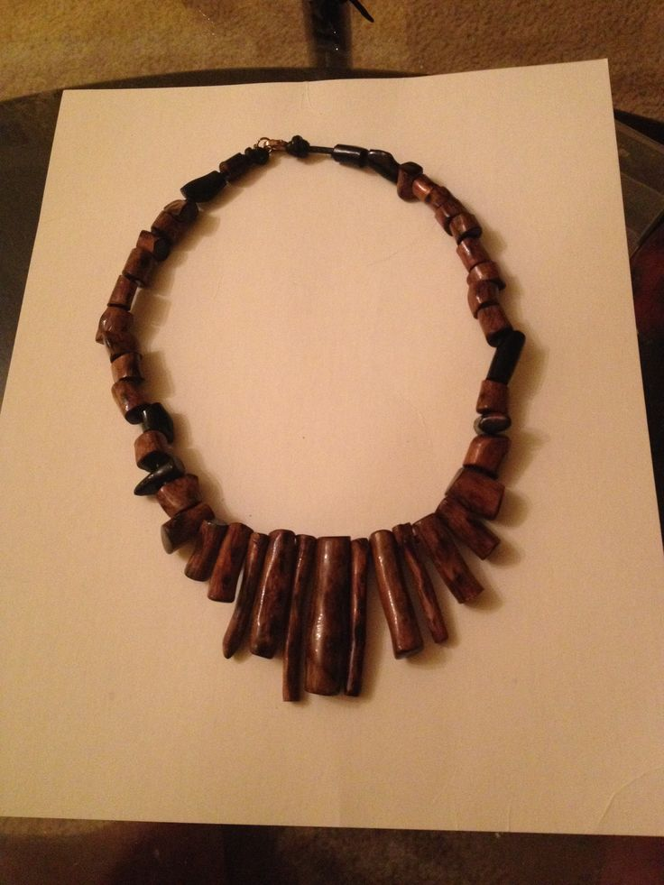 Genuine brown and black coral necklace on leather 50 grams!!! Make me an offer$$$
