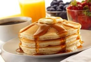 """Ihop pancake recipe. This website has lots of """"copycat"""" recipes from restaurants. The pancakes were pretty good. Made my own buttermilk with milk and lemon juice."""