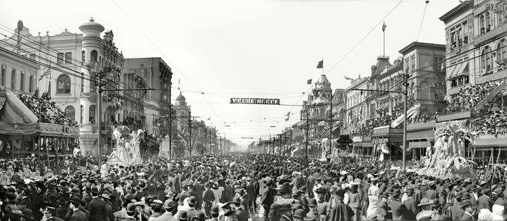 Mardi Gras, New Orleans 1907