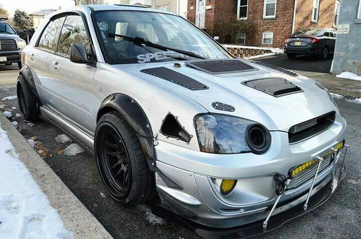 Subaru WRX STi, I love those cars
