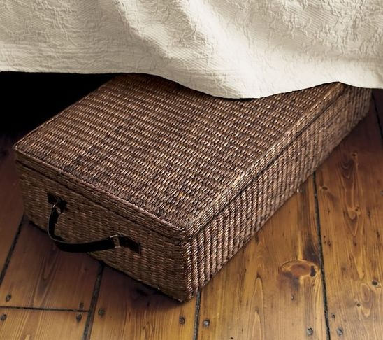 17 Best Images About Wicker Baskets With Lids On Pinterest