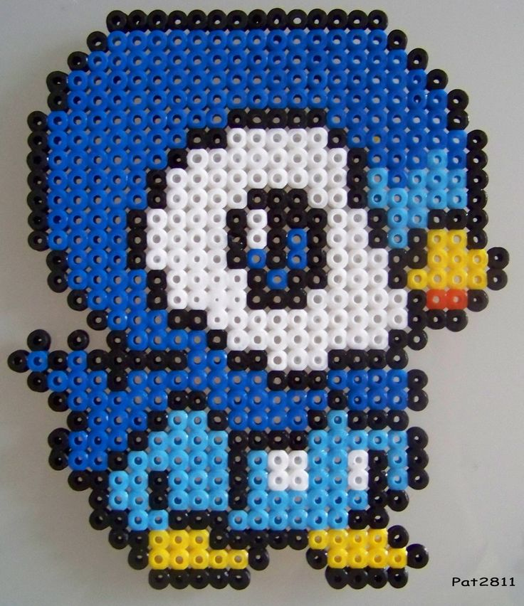 Pokemon perler bead patterns images pokemon images - Modeles perles a repasser ...