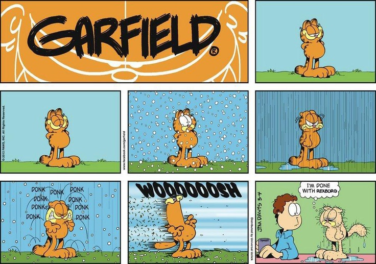 good ol' garfield, he knows rexburg, idaho too well