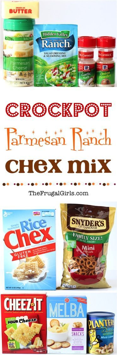 Crock Pot Chex Mix Recipe! ~ from TheFrugalGirls.com ~ no party is complete without a ridiculously delicious addictive snack, and this Crockpot Chex Mix is the perfect solution! #slowcooker #recipes #thefrugalgirls