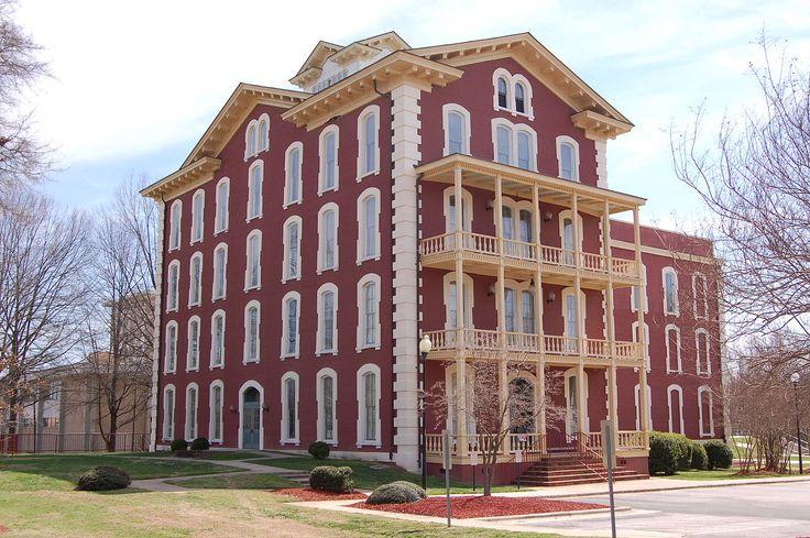 Estey Hall in Wake County, North Carolina.
