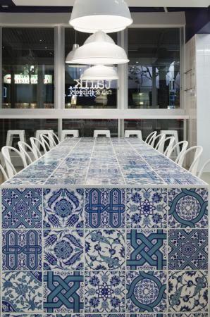 Kaper Design; Restaurant & Hospitality Design: Tank.