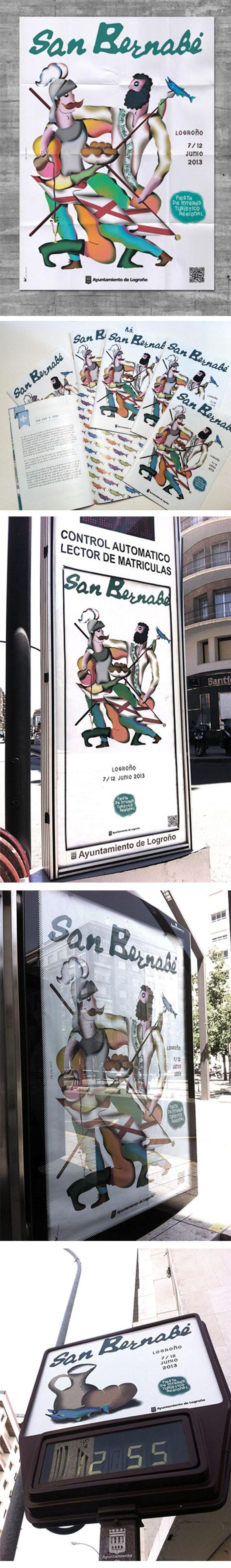 San Bernabé Identity Logroño 2013 Frän Alðnssön