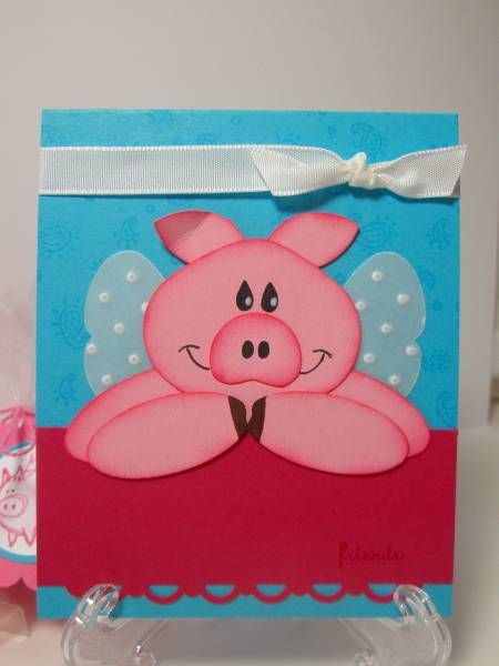 Happy Pig Day by pidgesmom - Cards and Paper Crafts at Splitcoaststampers