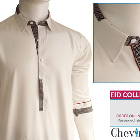 Chevin Shirely Eid Men Kurta Shalwar