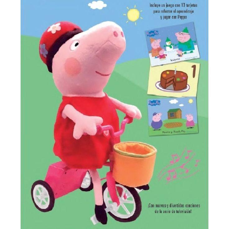 Juguete PEPPA PIG Y SU BICICLETA Precio 52,72€ en IguMagazine #juguetesbaratos