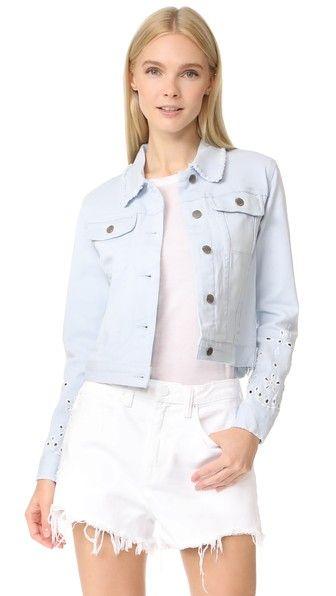 bea6d85e1980 REBECCA MINKOFF Verona Jacket.  rebeccaminkoff  cloth  dress  top  shirt   sweater  skirt  beachwear  activewear