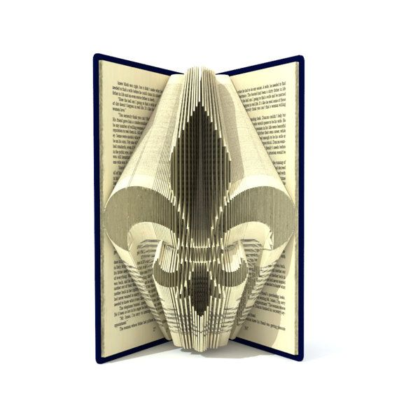 how to create a book folding pattern