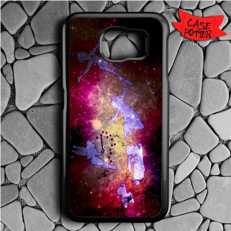 Peter Pan Samsung Galaxy S6 Black Case
