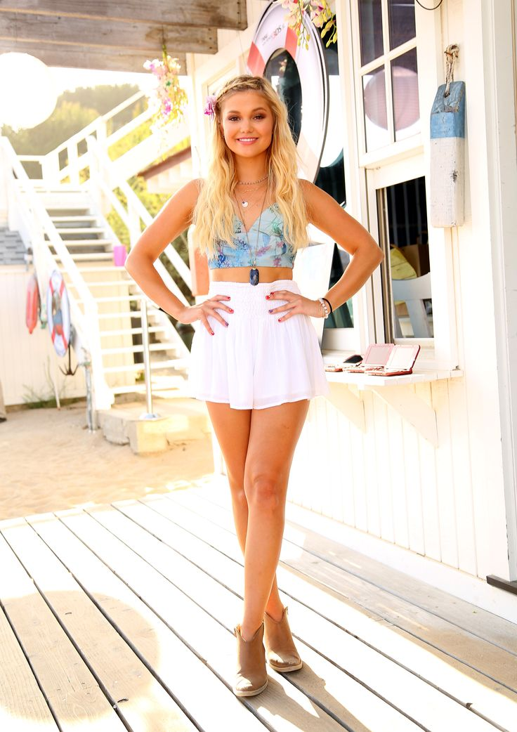 Olivia Holt - 18th Birthday party hosted by Nintendo in Malibu - 08/17/15                                                                                                                                                      More