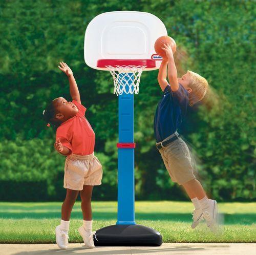 Stunning Kids Adjustable Basketball Hoops Set Balls Toddler Game Toys Outdoor Activity Kids Basketball