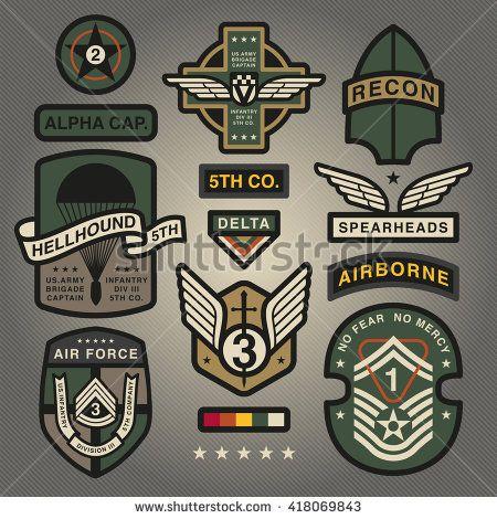 Afbeeldingsresultaat voor military patches