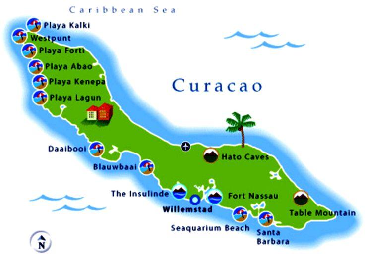 Curacao Beaches 39 Google Search Gotta Go Pinterest More Tourist Map Ideas