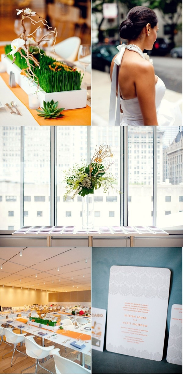 Chicago Wedding By Hello Darling, Olivia Leigh Photographie | Style Me Pretty