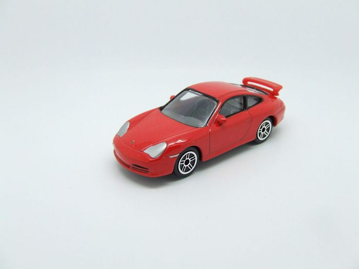 PORSCHE 911 GT 3 IN RED GREAT DETAIL MINT 1/58 MINT NEW REALTOY #Realtoy