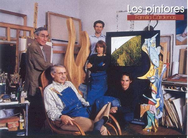 Santiago Cardenas Arroyo, pintor - Archivo particular