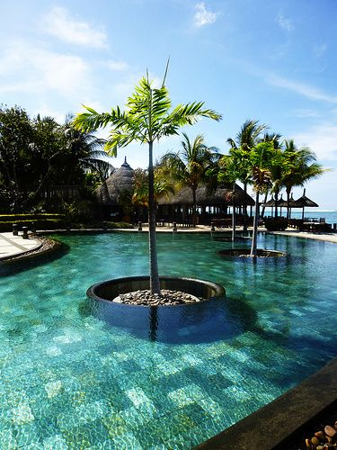 ✮ Pool in Mauritius | Heritage Awali, Bel Ombre ✮ (http://www.facebook.com/BeautyOfMauritius)