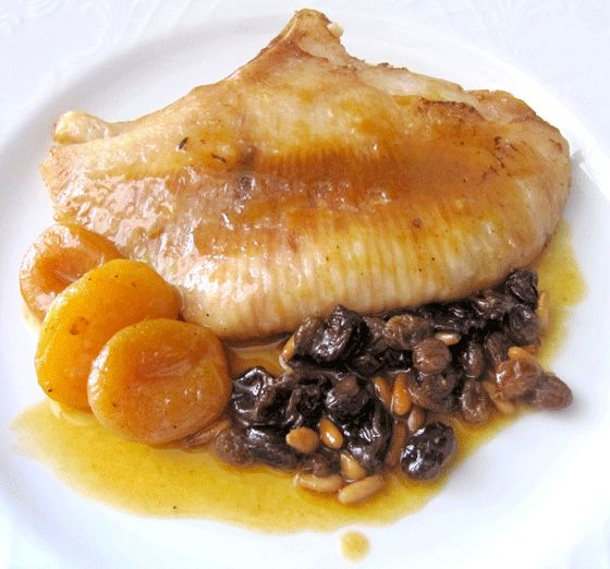 Raya con orejones – Gastronostrum - Gastronomía y tendencias para foodlovers